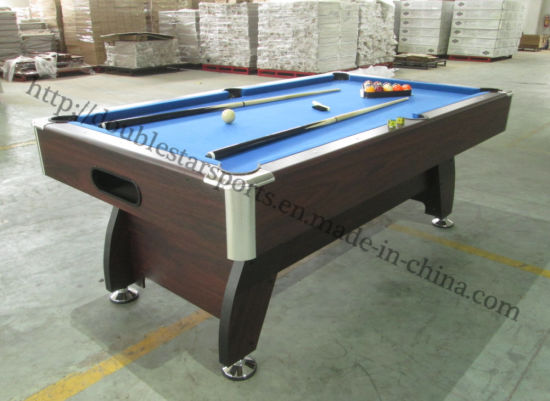 Chine Hot Saling Table de billard snooker en bois massif de ...