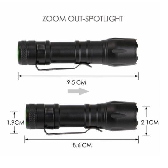 8,5 cm DEL Lampe de poche-Mini 9 DEL