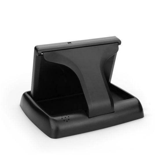 Pantalla colorida compatible con PAL//NTSC Lorenlli TFT LCD Monitor de coche plegable de 4,3 pulgadas para c/ámara de visi/ón trasera DVD asistencia de aparcamiento