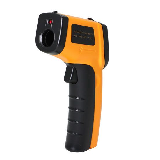 Thermomètre infrarouge 50 380c de canon numérique Laser Non Thermomètre à contact