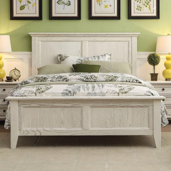 Appartement Chambre à coucher Meubles lit en bois pour la vente