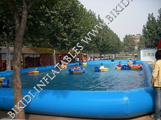 China Großes Inflatable Square Swimming Pool, PVC Pool ...