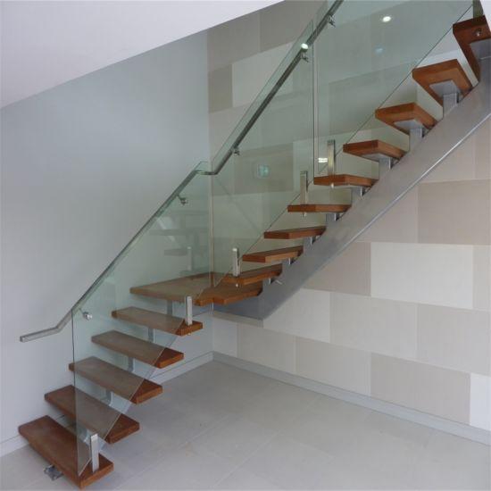 Ergots En Acier Balustrade En Verre De Conception Pour L Escalier Interieur Balustrade