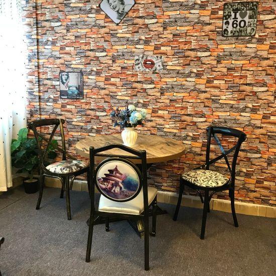 China Diseño moderno Café Mesa Redonda mesa de reunión de ...