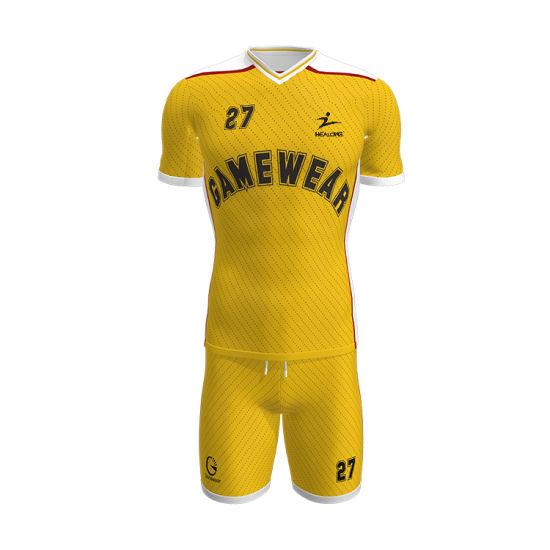 grossiste acheter maintenant nouvelle saison Healong dernière conception de vêtements de sports d'impression par  sublimation Maillot de soccer Football Shirt personnalisé uniformes de  soccer