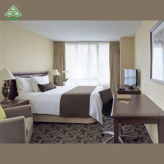 Mobilia della camera da letto dell\'albergo di lusso della mobilia della  camera da letto dell\'hotel della locanda di festa