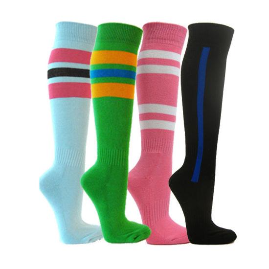 meilleure sélection b4b73 84198 Étoffes de bonneterie personnalisé Sports Football Rugby Soccer chaussettes  à bas prix