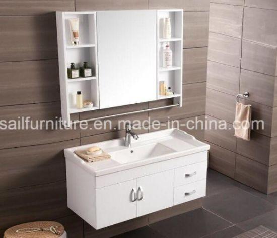 Juego de cuarto de baño modernos de madera