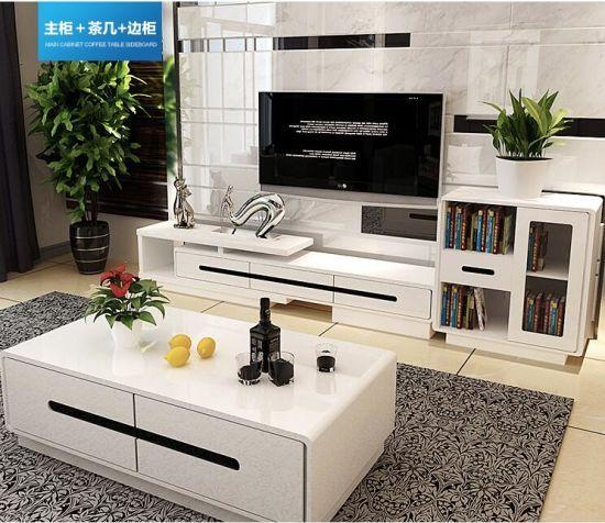 China Moderne Tisch-Entwürfe Wohnzimmer-Möbel Fernsehapparat ...