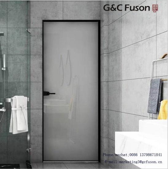 China Gc Fuson Armazón De Aluminio De La Puerta De Baño Con