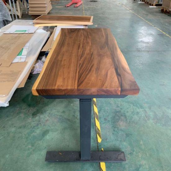 China Muebles de madera maciza madera mesa de comedor madera ...