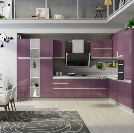 China Muebles de cocina moderna de alto brillo de la moda de ...