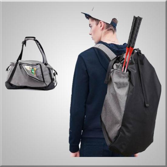 Sac résistant et Mutifunctional Salle de Gym & Fitness sac pour le tennis, badminton, peut prendre comme sac de sport et de sac à dos pour une