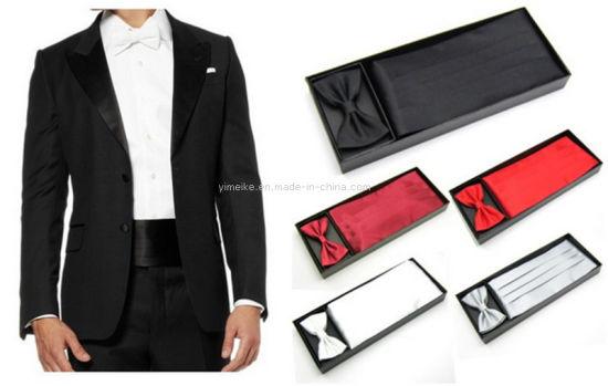 JUNGEN Corbata de Lunares y Rayas para Hombre Juego de Corbata y pa/ñuelo Corbata Estampada de Informal con Gemelos Clip de Corbata Caja de Regalo Elegante Corbata