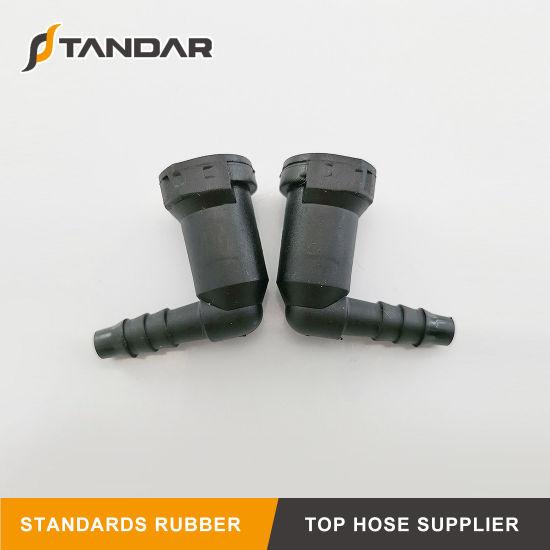 Voitures particulières sous pression tuyau connecteur PA 4x4x4 mm Y Connecteur Tuyau Pipe Connector
