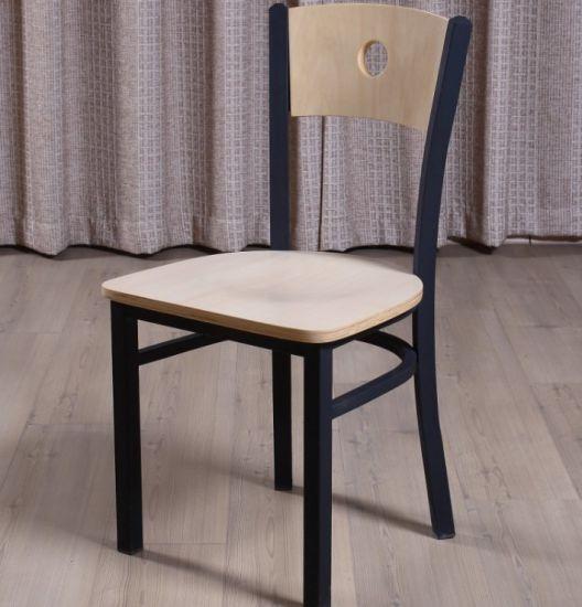 Barata sin doblez silla de comedor de madera