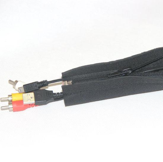 1m nylon tejidos manguera velcro ID 30mm *** cable protección protección manguera