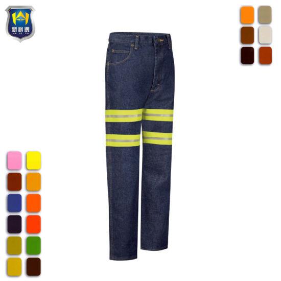China Los Pantalones De Algodon Resistente Para Hombres Slim Fit Jeans De Mezclilla De Trabajo Comprar El Trabajo Jeans En Es Made In China Com