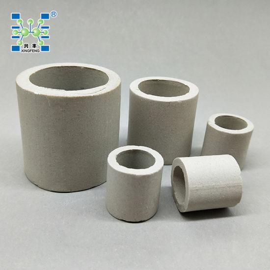 conception adroite pas cher à vendre détaillant L'alumine anneau Raschig en céramique pour la colonne de distillation