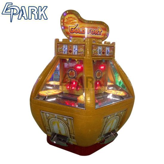 игровой автомат с толкателем монет