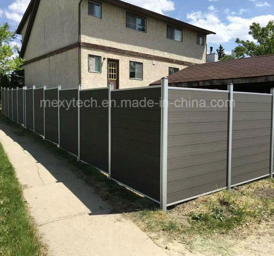 la meilleure attitude 4283f 0f836 Foshan Mecofence Composite Mexytech WPC Clôture de jardin