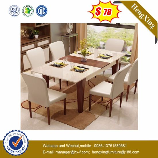 Salón moderno de madera Inicio Apartamento Restaurante Cantina comedor del  hotel mobiliario (HX-8DN011)