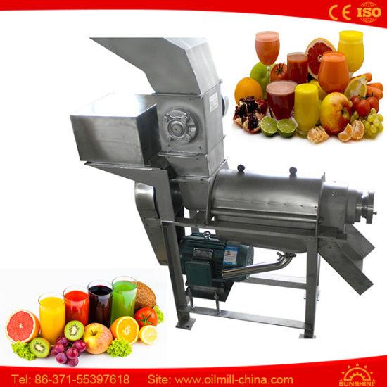 chine machine fabriquer du jus extracteur industriel de fruits juicer la presse froide
