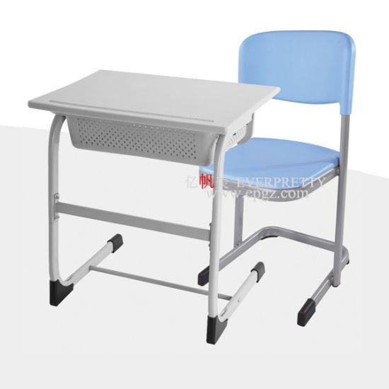 prix d'usine chaise de bureau de l'école ensemble en plastique