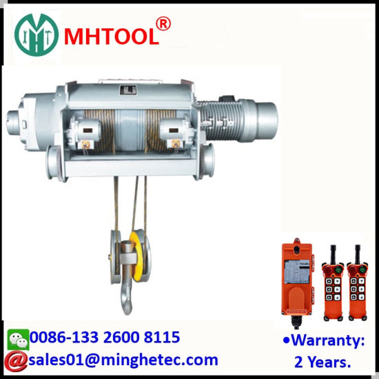 Bekannt China Mhtool 120t Hochleistungskran-elektrische Hebevorrichtung PP17