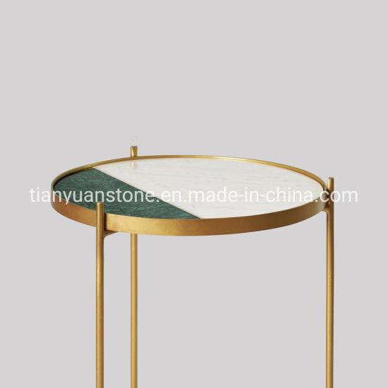 China Muebles de la moda de piedra de mármol mesa para ...