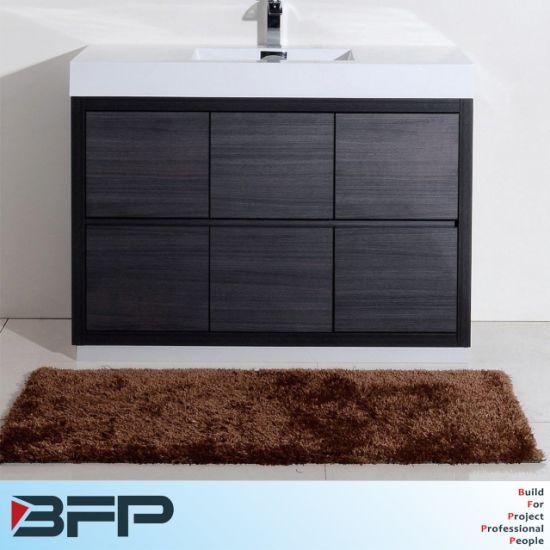 China Vanidad de color negro de madera moderno cuarto de ...