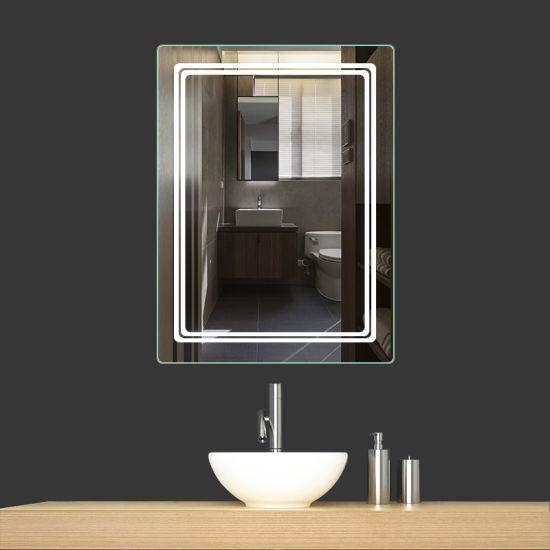 Chine Salle de bains miroir éclairé LED pour la décoration ...