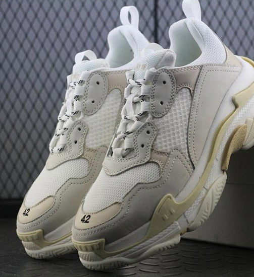 China Nuevo 2018 Triple S Zapatos zapatillas Hombres Mujeres