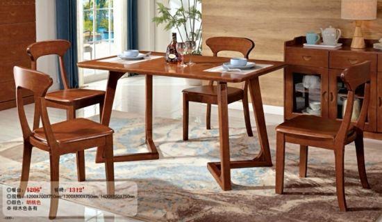 China Precio barato 4 plazas de comedor moderna mesa de ...