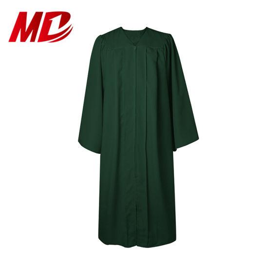 China Vestido De Graduación De Escuela Secundaria De Tela