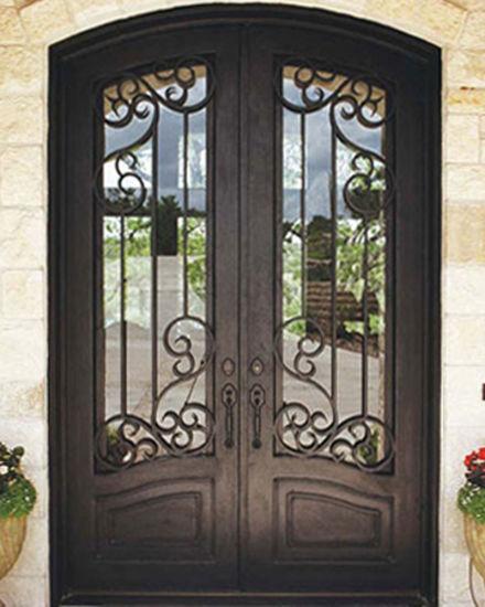 новейшие красивый элегантный наружные защитные элементы безопасности Custom запись гриль двери