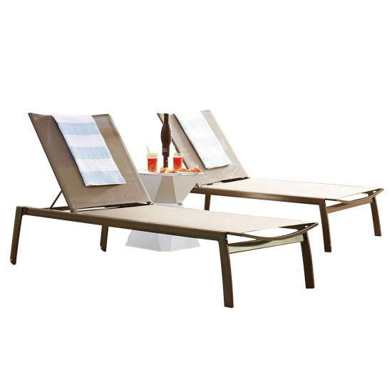 Salon de jardin pliable balcon plage Sun Fauteuil inclinable
