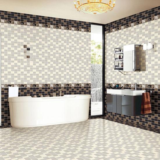 China Diseño resistente al agua cuarto de baño Azulejos de ...