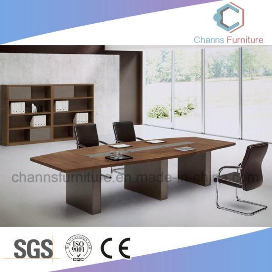 precio de fábrica de madera para oficina Escritorio Reunión Mesa de  Conferencia (CAS-MT1751)