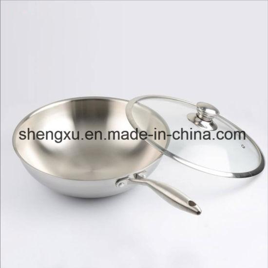 Chine Ustensiles De Cuisine En Acier Inoxydable 18 10 Chinois Wok