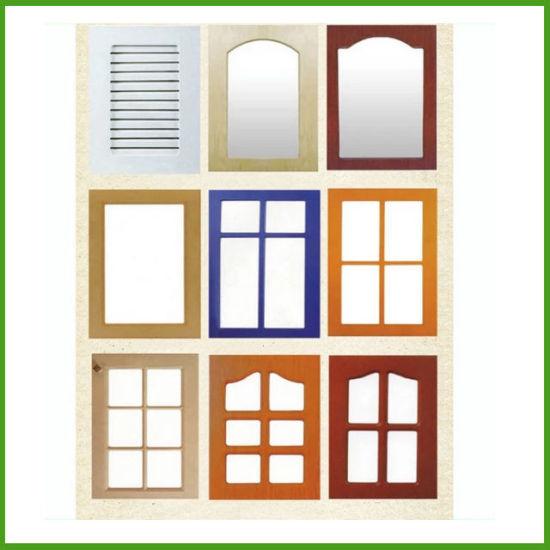 Piezas de Muebles de cocina armario de cocina modular de PVC