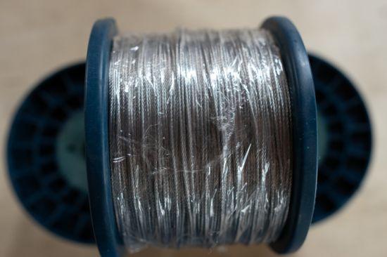Cuerda de alambre galvanizado 100 Metro de 2mm de 7x7 Cable De Metal construcción
