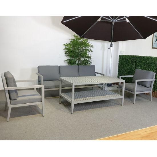 Tissu profilé en aluminium extérieur canapé jardin Chine de ALR54j
