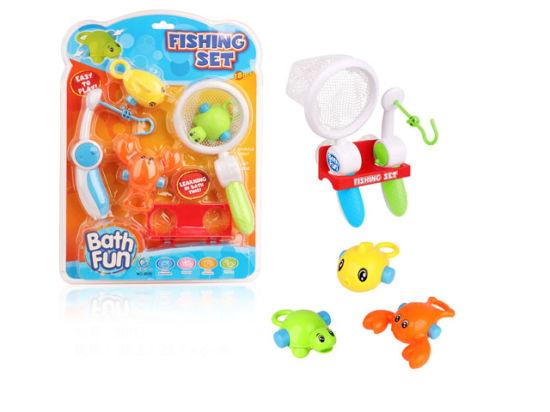 China Plastik scherzt Fischen Spielwaren Baby Bad Spielzeug