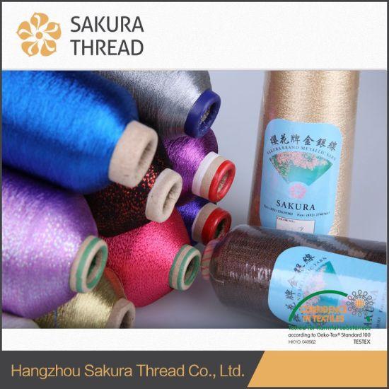 Poliésternylon Hilos De Oro Puro Para El Hogar Productos Textiles