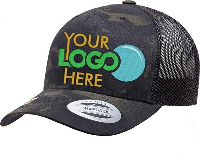 Custom Snapback Hats for Men /& Women Sheep Side View Embroidery Cotton Snapback