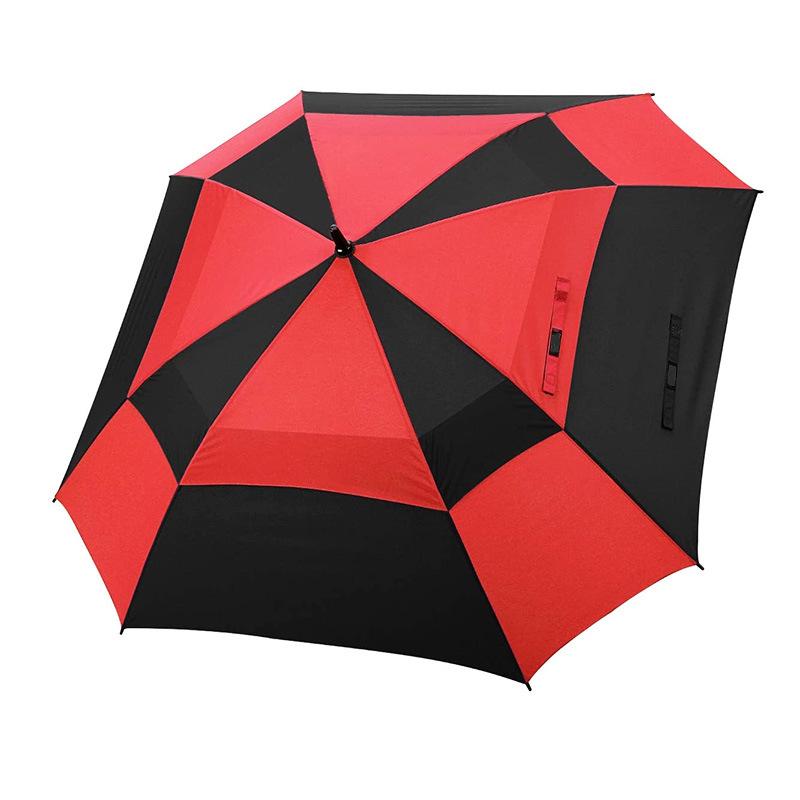 Ergonomic Non-Slip Handle Compact Umbrella,Great White Shark Automatic Folding Travel Umbrella Auto Open//Close