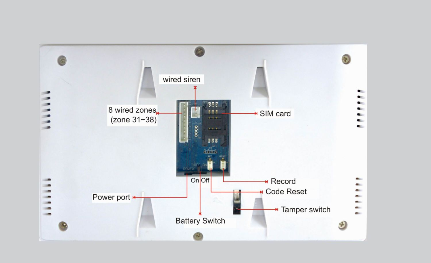China Alarm System Manufacturer Security Products Beam Sensor Siren Wiring Diagram Supplier Ease Co Ltd