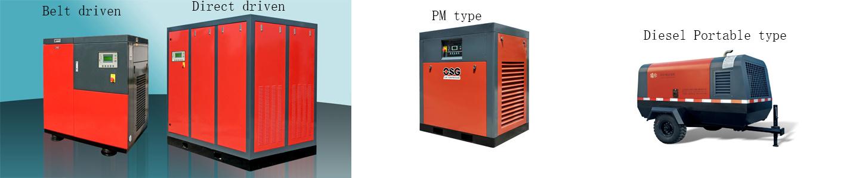 Cina produttore di compressori, compressore d'aria, vite aria ...