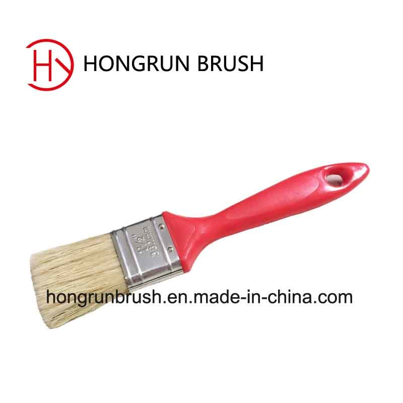 New Product ---Frosted Plastic Handle Paint Brush HYP0606